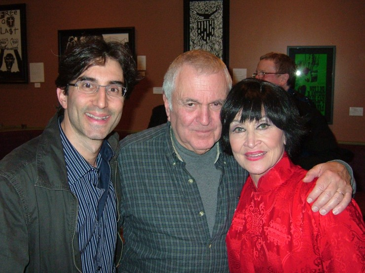 Michael Unger, John Kander and Chita Rivera