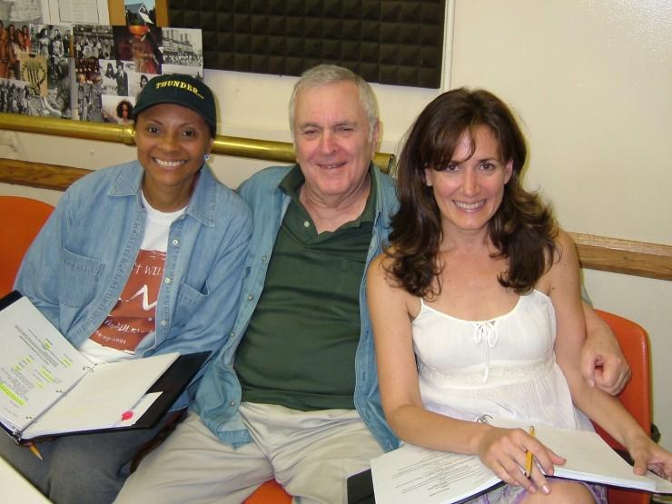 Leslie Uggams, John Kander and Janet Metz