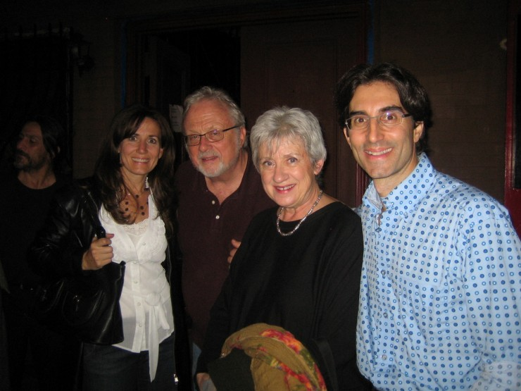 Janet Metz, William Bolcom (Composer), Joan Morris and director Michael Unger (Director)