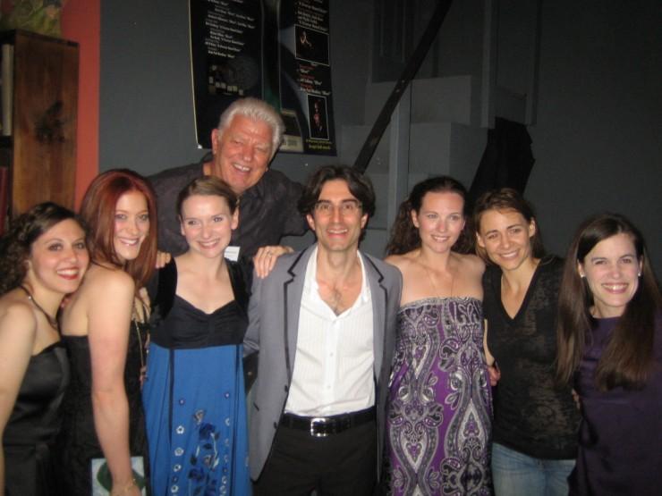 Darrin Revitz, Lindsay Evans, Ed Waterstreet (Artistic Director), Michael Unger (Director), Amber Zion, Deanne Bray, Kalen Feeney