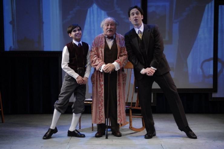 Jace Casey (Bibi), David Margulies (Grandpere), Michael Minarik (Jacques)