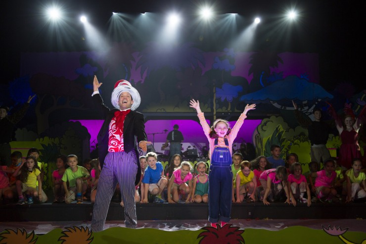 SEUSSICAL The Musical in Newtown, CT for the 12.14 Foundation