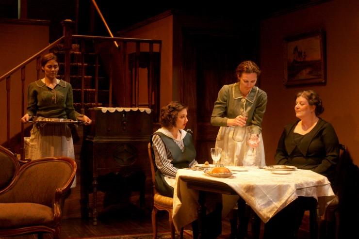 Deanne Bray (Christine), Jennifer Losi (Isabelle), Amber Zion (Lea), Casey Kramer (Madame Danzard)