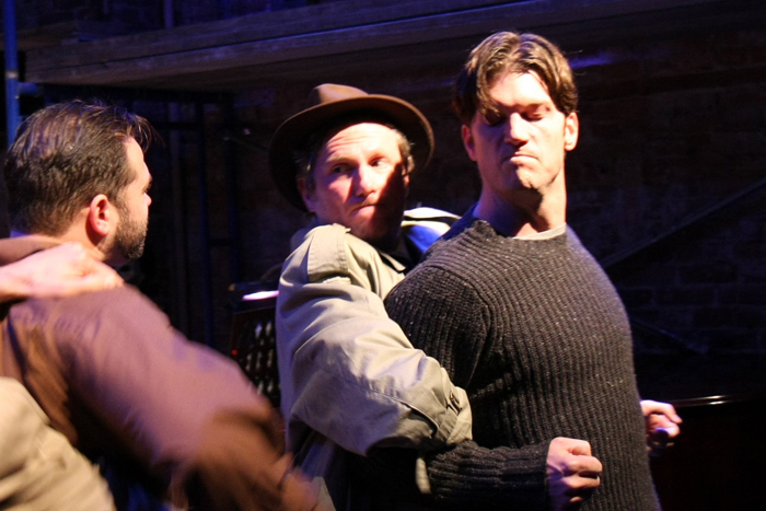 William Browning (Eddie), Richard Mann and Branch Fields (Marco)