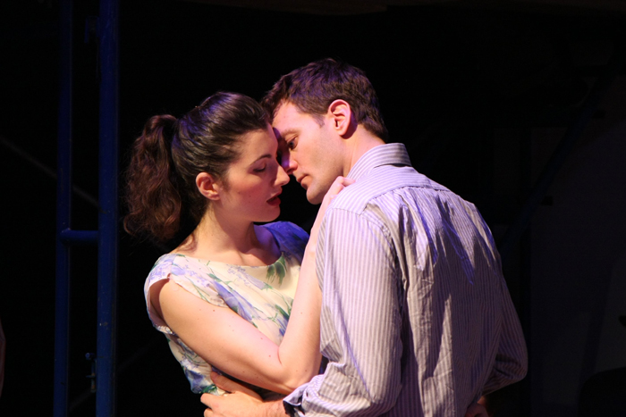 Valentina Fleer (Catherine) and Glen Seven Allen (Rodolpho)