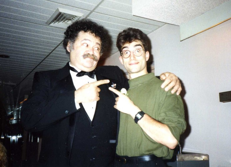 "1990 with Avery Shreiber who directed me in ""Broadway Bound"" in Jupiter, FL"