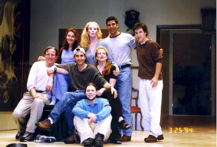 "1994 The full company of ""Changes of Heart"" at Barrington Stage Company"