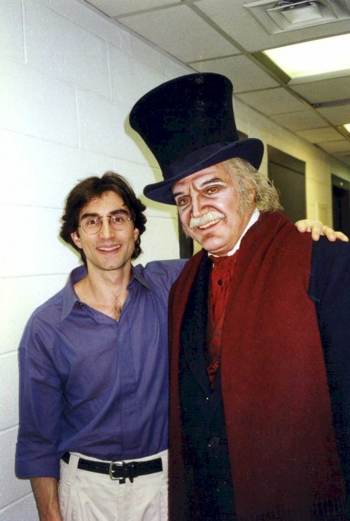 1997 with Hal Linden as Scrooge at Madison Square Garden