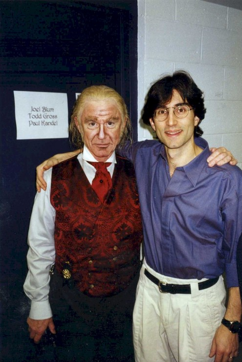 1997 with Roddy McDowall as Scrooge at Madison Square Garden