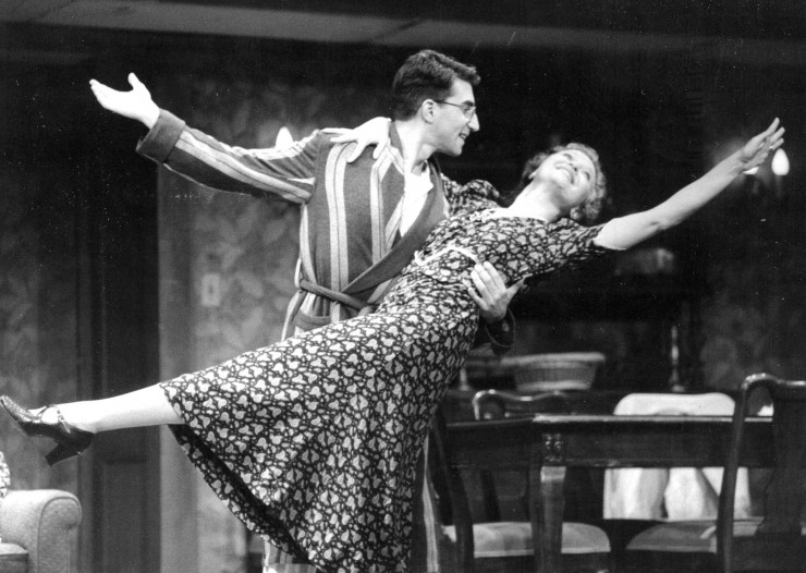 "1990 As Eugene in ""Broadway Bound"" with Lauren Klein at Jupiter Theatre"