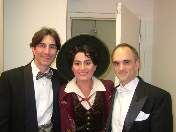 Michael Unger, Heather Johnson, Maestro David Neely