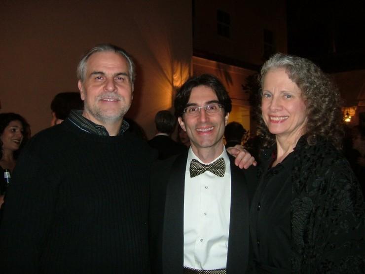 Maestro Victor DeRenzi, Michael Unger, Stephanie Sundine