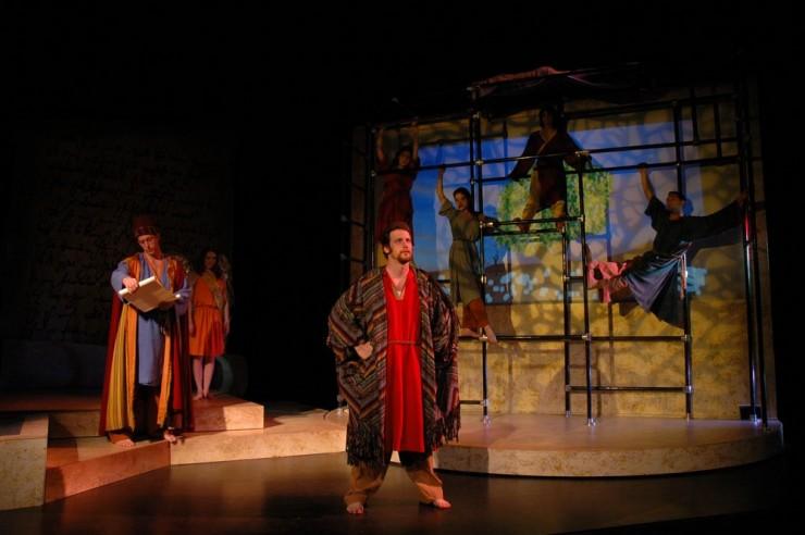 John Long (Solomon), Natasha Staley (Michael), Britt Whittle (King of Sheba)