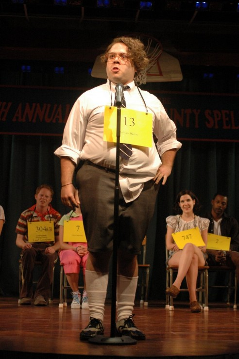 Dan Fogler (Barfee) and the Company