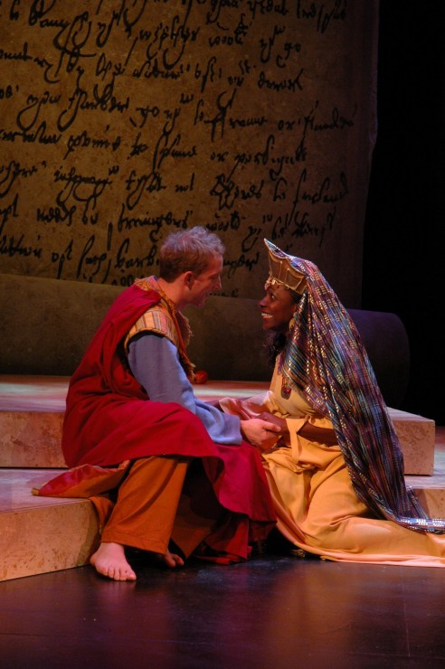 John Long (Solomon), Darlene Horne (Sheba)