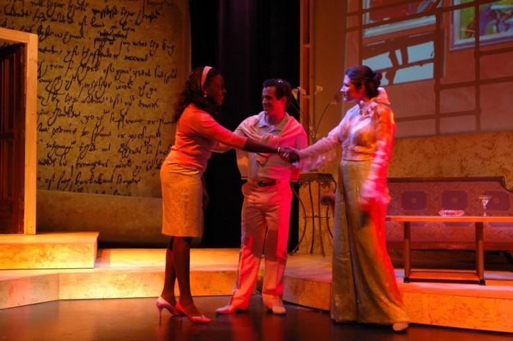 Darlene Horne (Laura), Ross Boehringer (Harry), Nora Sweeney (Holden)