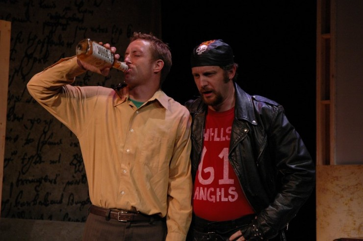 "John Long (Herman), Britt Whittle (Red) in ""Bitter Sauce"" by Eric Bogosian"