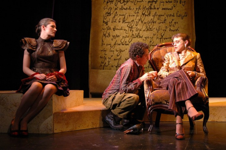 Nora Sweeney (Dymphna), Ross Boehringer (Hendryk), Natasha Staley (Esther)