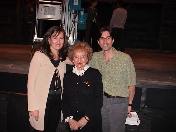 Janet Metz, Ruth Gruber, Michael Unger