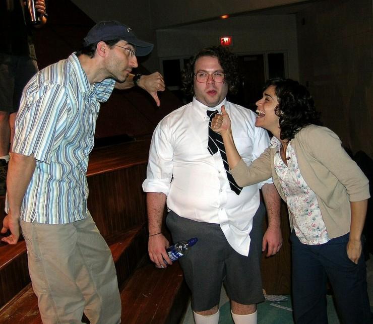 Michael Unger, Dan Fogler, Rebecca Feldman