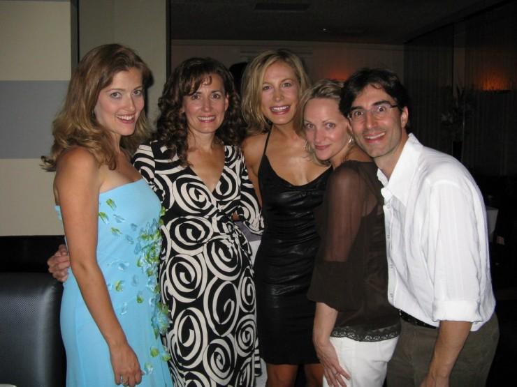 Sandy Rustin, Janet Metz, Lisa Datz, Paige Price (Artistic Director), Michael Unger (Director)