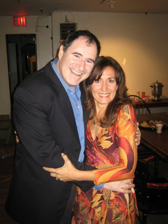 Richard Kind and Janet Metz after the Science and Technology evening.