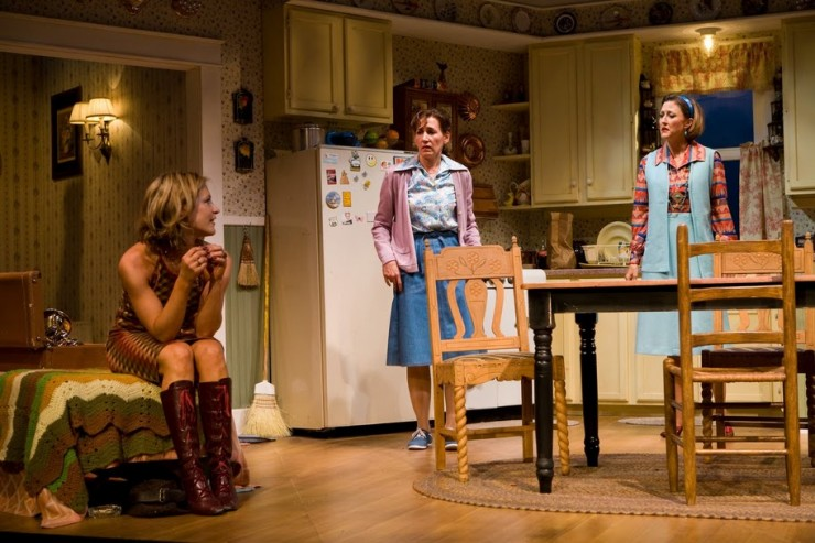 Lisa Datz (Meg), Janet Metz (Lenny), Sally Mae Dunn (Chick)