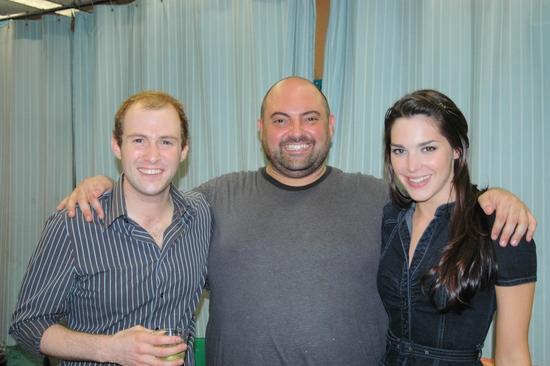 Nick Gaswirth (Brom), Roland Rusinek (Van Cortland), Kelli Barrett (Tina)