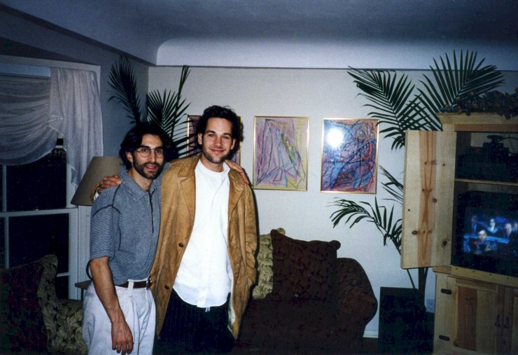 1994 in LA with Paul Rudd