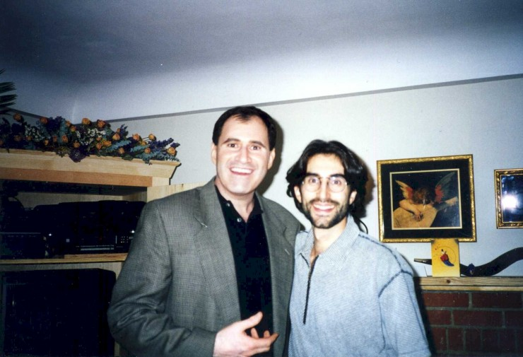 1994 in LA with Richard Kind