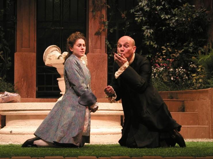 Leonide (Ali Marsh), Hermocrate (Peter Kybart)