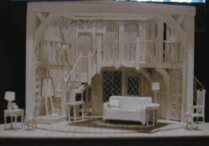 Act One model - by Todd Rosenthal