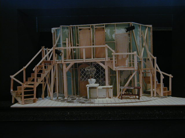 Act Two model - by Todd Rosenthal