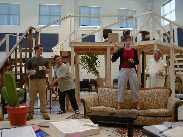 Nick Toren (Tim), Craig Dudley (Lloyd), Janet Metz (Belinda), Tom Roland (Selsdon)