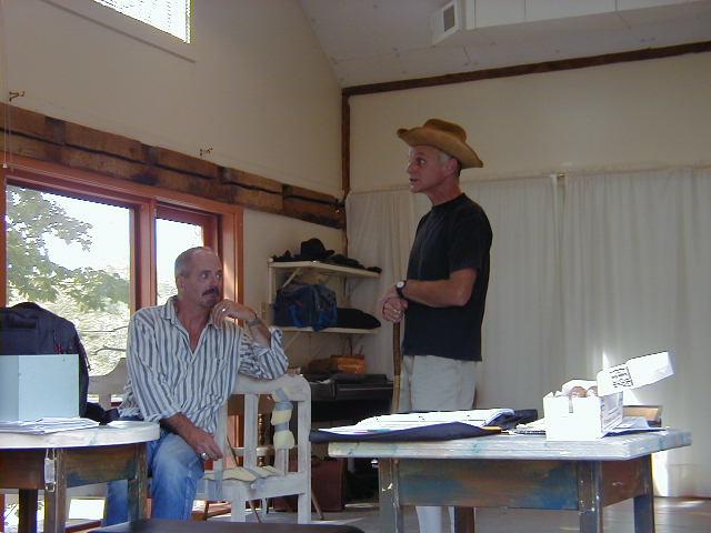 Philip Kerr and John Seidman