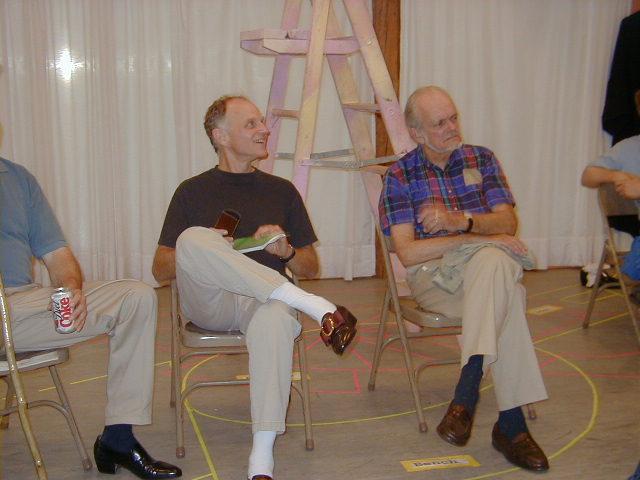 John Seidman and Sam Lloyd, Sr.