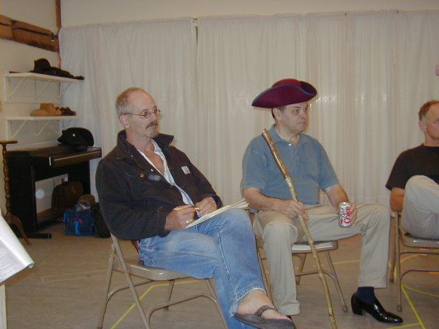 """Philip Kerr, Clark Gessner (Yes, THAT wonderful Clark Gessner of """"You're A Good Man Charlie Brown"""" fame)"""