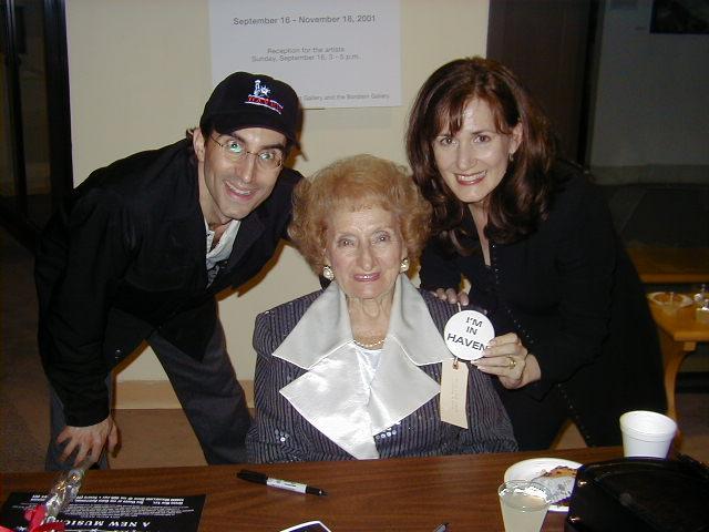 Michael Unger, Ruth Gruber, Janet Metz