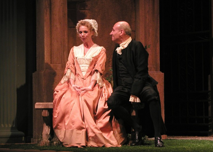 Leontine (Amy Van Nostrand), Hermocrate (Peter Kybart)