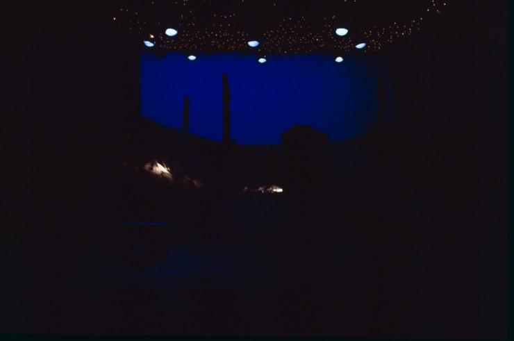 Dusk on Todd Rosenthal's stunning set