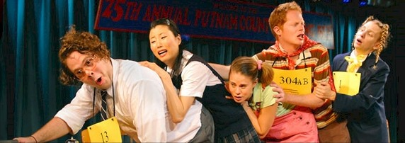 """The Original Cast of """"The 25th Annual Putnam County Spelling Bee"""""""