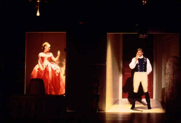 Ali Marsh (Silvia), Steve Memran (The Prince)