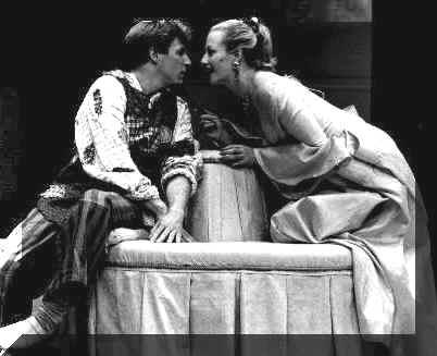 James Hallett (Harlequin), Jennifer Bauer (Lisette)