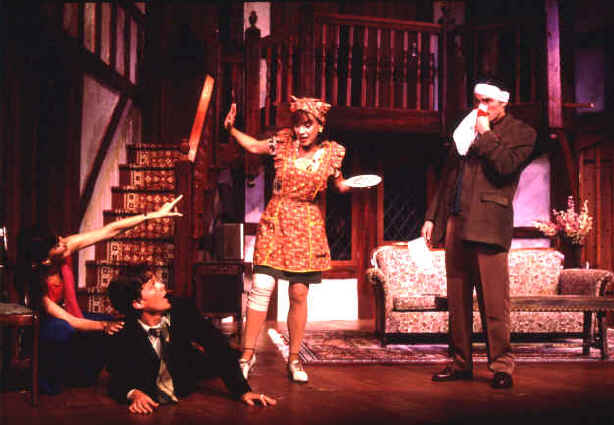 Janet Metz (Belinda), Paul Whitthorne (Garry), Sue Cella (Dotty), Jeb Brown (Frederick)