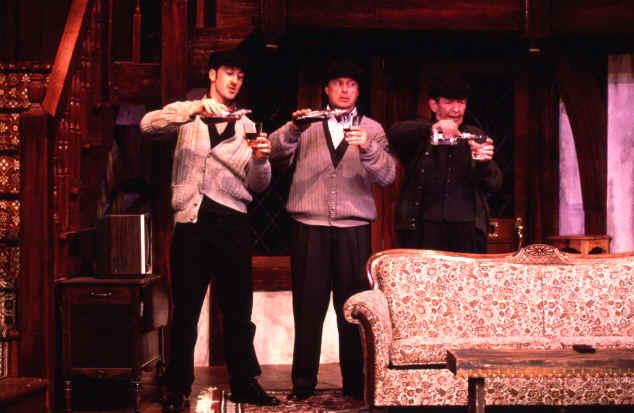 Nick Toren (Tim), Craig Dudley (Lloyd), Tom Roland (Selsdon)