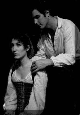 Ami Rotschild (Kate), Michael McNeill (Petruchio)