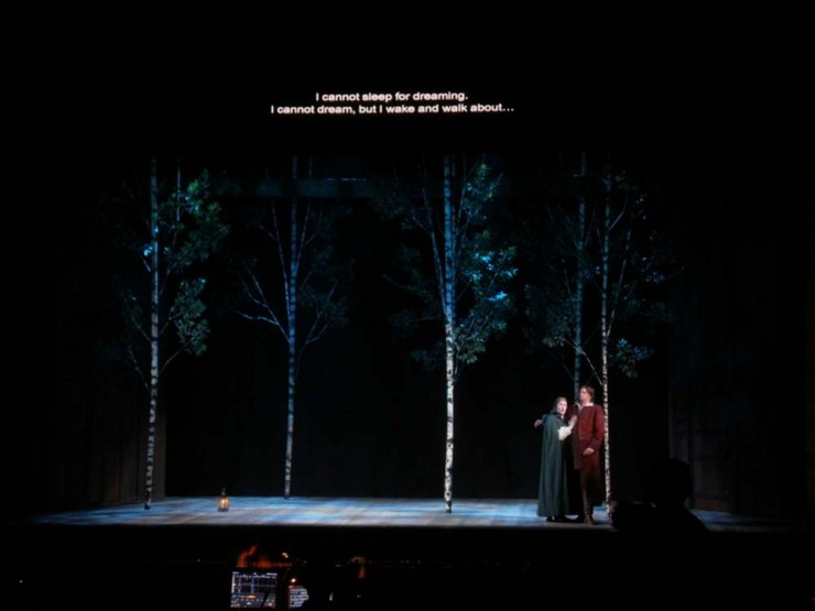 Act III Scene 1 - The Woods