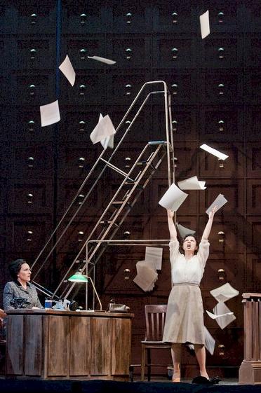 The Papers Aria - Audrey Babcock (The Secretary), Lina Tetriani (Magda Sorel)