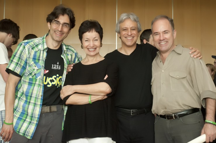 Michael Unger (Director), Lynn Ahrens (Lyricist, Bookwriter), Jeffrey Saver (Music Director), Stephen Flaherty (Composer, Bookwriter)