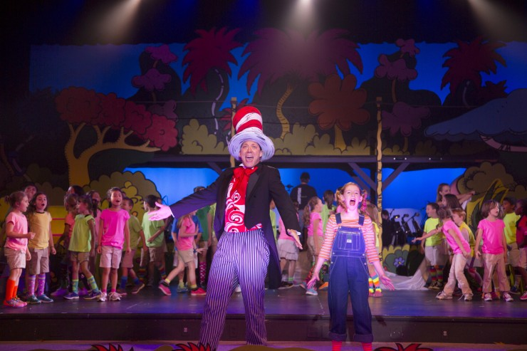 Seussical, Newtown H.S. 8-8-13 028